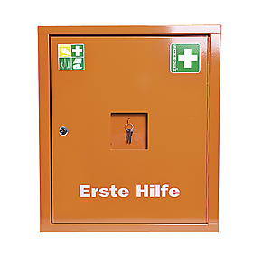 Verbandschrank EUROSAFE leer orange
